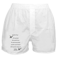 Cherokee Prayer 1 Boxer Shorts