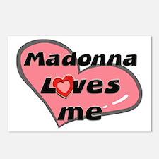 madonna loves me  Postcards (Package of 8)