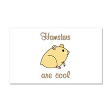 Hamsters are Cool Car Magnet 20 x 12