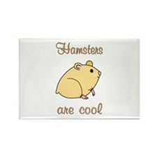 Hamsters are Cool Rectangle Magnet