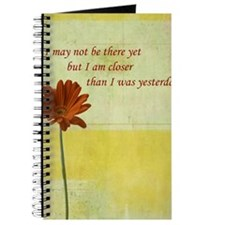 Daisy motivational quote Journal