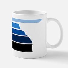 Break lines blu/wht Mug