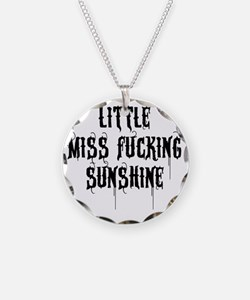 Little Miss Sunshine (Black  Necklace