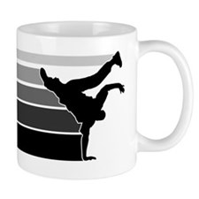 Break lines gray/blk Mug