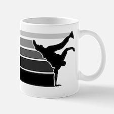 Break lines gray/blk Mug