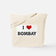 I Love BOMBAY Tote Bag