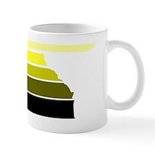 Break lines yellow/wht Mug