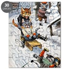 Thiele Cats Sled 5 Puzzle
