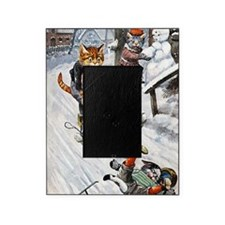 Thiele Cats Sled 5 Picture Frame