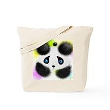 Panda in color Tote Bag