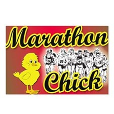 Marathon Chick Postcards (Package of 8)