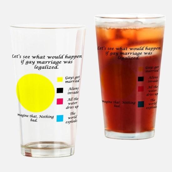 LegalizeGayMarriage Drinking Glass