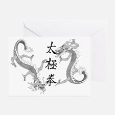 ttcdragonsLight Greeting Card