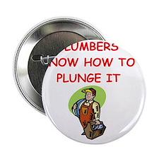 """PLUMBER 2.25"""" Button"""