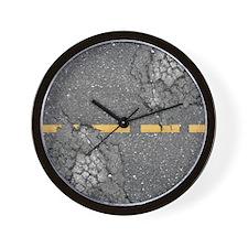 road_king_duvet Wall Clock