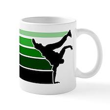 Break lines grn/blk Mug