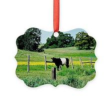 Oreo Cow Ornament