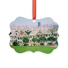 Painted Ladies Ornament