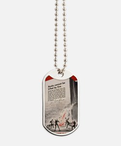 Books are Weapons Dog Tags