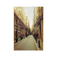 Streets of Spain Rectangle Magnet