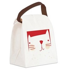 showercurtain40 Canvas Lunch Bag