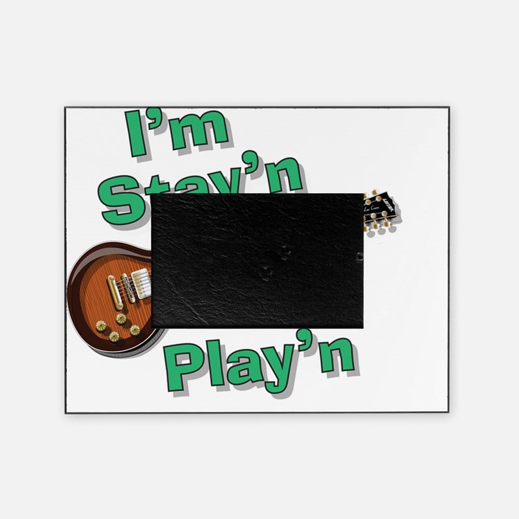 Guitar Playn Picture Frame