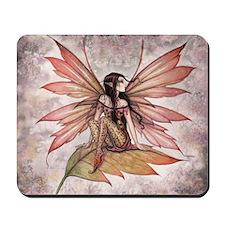Autumn Drifting Fairy Art Mousepad