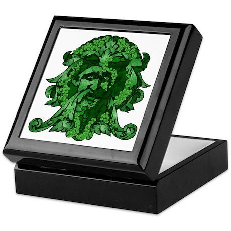 Green Man: Metamorphosis Keepsake Box