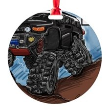 Balck FJ Cruiser Art Ornament