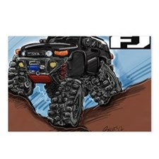 Balck FJ Cruiser Art Postcards (Package of 8)