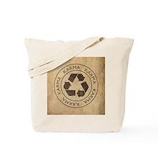 Vintage Karma Tote Bag