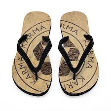Vintage Karma Flip Flops