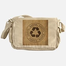 Vintage Karma Messenger Bag