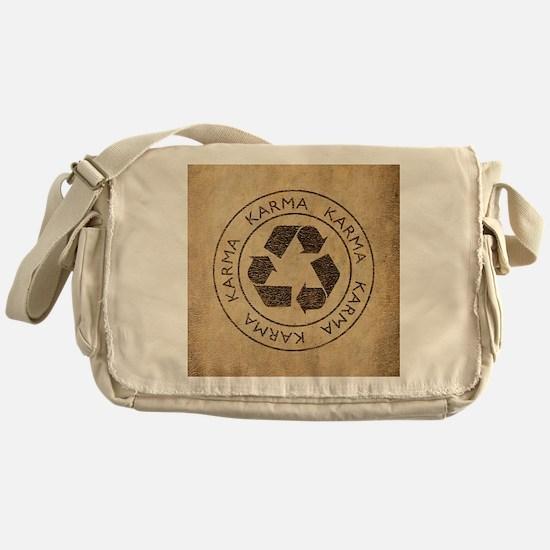 Vintage Karma Messenger Bag