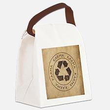 Vintage Karma Canvas Lunch Bag