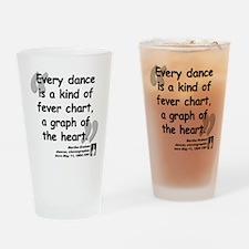Graham Dance Quote Drinking Glass