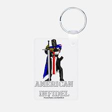 American Infidel Keychains