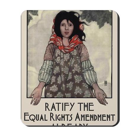 Ratify the ERA Mousepad
