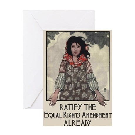 Ratify the ERA Greeting Card