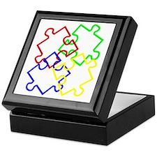 Autism Large Keepsake Box