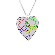 Autism Large Necklace