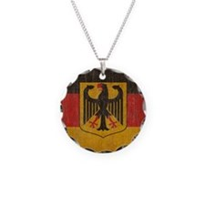 Vintage Germany Flag Necklace