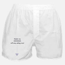 Surprise Grandma - Baby Boy Boxer Shorts