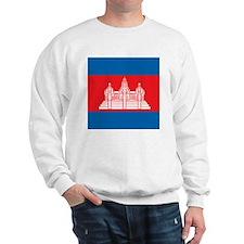 Cambodia Flag Sweatshirt