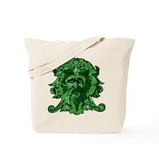 Green Man: Metamorphosis Tote Bag