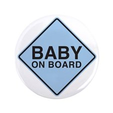 "Baby on Board 3.5"" Button"
