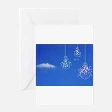 Light-Bulb in the Sky Greeting Cards
