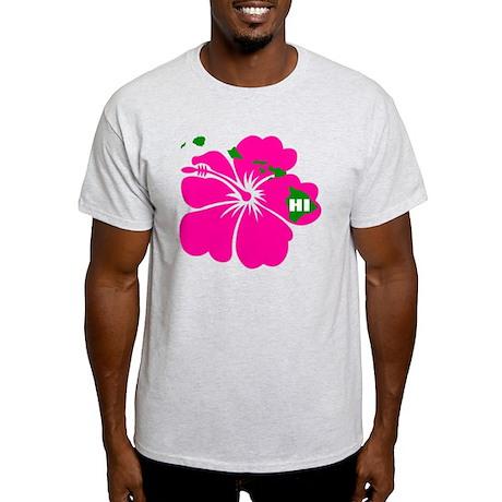 Hawaii Islands Hibiscus Light T-Shirt