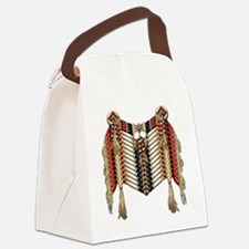 Native American Breastplate 10 Canvas Lunch Bag