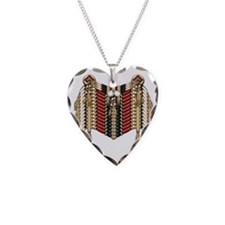 Native American Breastplate 9 Necklace Heart Charm